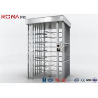 China 90 Degrees Full Height Turnstile High Security For Outdoor Access Control wholesale