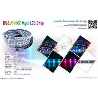 China Addressable IP68 APA102 Magic Color LED Pixel Strip Light for Buildings, Bridge or Underwater wholesale