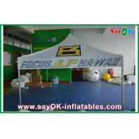 China 3 x 3m Pop-up Folding Tent With Company Logo Steel Frame on sale