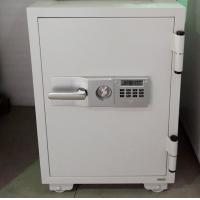 China Grey Durable Fireproof Filing Cabinets With Turn Key Lock Customized Size wholesale