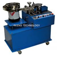 China LED Radial Lead Forming Machine Resistor Lead Bender With Polarity Detection wholesale