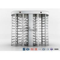 China Full High Access Control Turnstile Dual Passage RS485 Communications Interface wholesale
