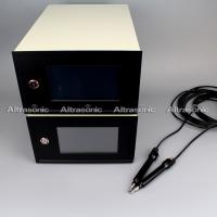 China Step or continuous Ultrasonic Plastic Welding Equipment / Wire Embossing Machine wholesale