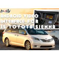 Buy cheap Original Car Screen Installation Android Auto Interface For TOYOTA Sienna 2015 product