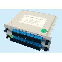 China PON networks 1*16 fiber optic coupler splitter Low Polarization Dependent Loss wholesale