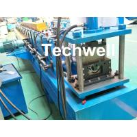 China Customized Half Round Gutter Roll Forming Machine For Making Rainwater Gutter & Box Gutter wholesale