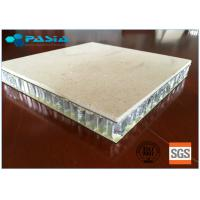 China 25 Mm Thickness Lightweight Marble Panels Match Relevant Fire Resistance Standard wholesale