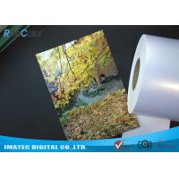 China High Glossy Metallic Inkjet Media Supplies 260gsm Resin Coated Inkjet Photo Paper wholesale
