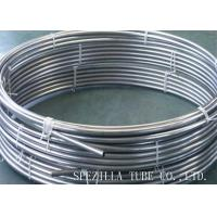China 6.35 X 0.889mm Stainless Steel Herms Coil AISI 304 Round Metal Pipe Coil wholesale