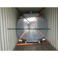 China High Strength 17500L Hcl Cargo Hydrochloric Acid Tank For Chemical Truck Body wholesale