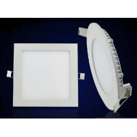 China Square panel light led recessed mounted 12W down light slim lamp IC driver wholesale