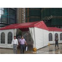 China 6x6M Commercial Waterproof Rain Tents Outdoor Event Canopy UV Resistant wholesale