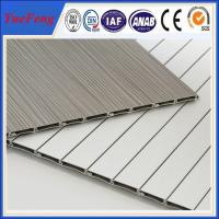 China 6000 series aluminium louvre extrusion factory, roller shutter doors for furniture wholesale