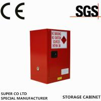 China Metal Portab Chemical Storage Cabinet With Single Door / Flammable Safety Cabinet wholesale