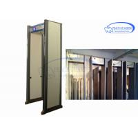 China 45 Zones Security Metal Detectors Door , Body Metal Detectors Professional Gate With IP Camera wholesale