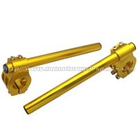 China High Strength 52mm Clip On Motorcycle Handlebars For ZX7R ZX9R TL1000S wholesale