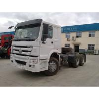 China Durable Howo Tractor Head Truck , 40 Tons 10 Wheel 371hp Prime Mover Truck wholesale