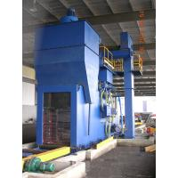 China Industrial Steel shot blasting equipment for blasting of H beams , Angles and flat wholesale