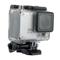Quality 60M Deepth Waterproof Underwater Sports Camera , Helmet Mounted Small Action for sale