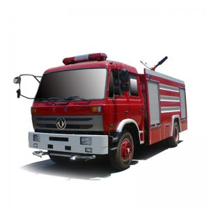 China Dongfeng 190HP 6T 8T Water Tank Fire Fighting Truck wholesale