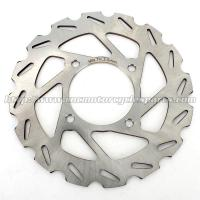China Motorcycle Brake Disc Quad Bike Rotors And Brakes CAN AM Outlander 400 500 Stainless Steel wholesale