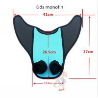 China Adult / Kids Mermaid Swim Fin Super Comfortable PE Insert Neoprene Cover wholesale