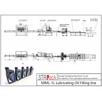 China Automatic 50ML-1L Lubricating Oil Filling Line CE Certification wholesale