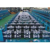 China Double Layer Metal Roofing Roll Forming Machine For Roof Cladding , Wall Cladding wholesale