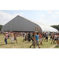 China Fireproof Aluminum Frame Tent , Hot Dip Galvanized Steel Canvas Frame Tents wholesale