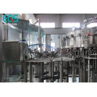 China 18 Rinsing Heads  Fully Automatic Carbonated Water Filling Machine CE ISO Approved wholesale