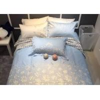 China Embroidered Modern Bedding Sets 4Pcs Logo Customized With Different Size wholesale