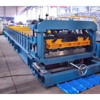 China 7.5 Kw Gimbal Gearbox Drive Roof Rolling Forming Machine PLC Frequency Control System wholesale