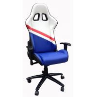 China Durable PU Leather Adjustable Office Chair For Work , Study , Rest And Sleep wholesale