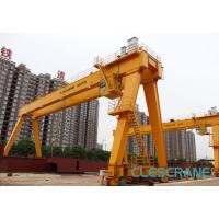 China good performance track travelling medium-sized electric hoist gantry crane wholesale