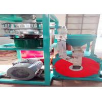 China High Speed Cowhide PVC Recycling Machine Dust Free Wind Pressure 3700rpm wholesale