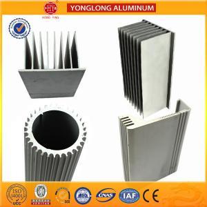 China Sound Insulation Aluminum Heatsink Extrusion Profiles Better Stiffness on sale