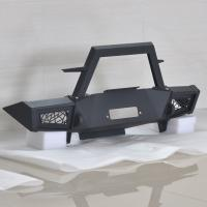 China No Punch Jeep Wrangler Jk Front Bumper Original Design Car Parts 28*48*16 CM wholesale