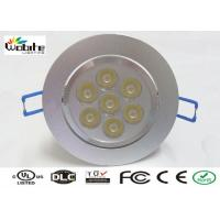 Buy cheap 7W Round Surface Mounted Recessed Lighting Fixture 120 Beam Angel 700Lm from wholesalers