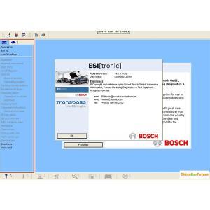 China BOSCH ESI 2014 Q1 Version ( Tronic ) Automotive Diagnostic Software Multi Language wholesale