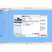 China BOSCH ESI 2014 Q1 Version ( Tronic ) Automotive Diagnostic Software Multi Language wholesale