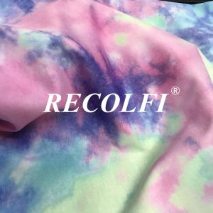 China Tie Dyed UV 50+Repreve Recycled Fabric Yogawear wholesale