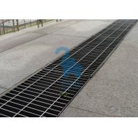 China Rectangular Floor Sink Grate Trench Drain Covers Stainless Steel Material wholesale