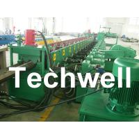 China Forming Speed 10 - 12m/min W Beam Guardrail Forming Machine for Crash Barrier TW-W312 wholesale