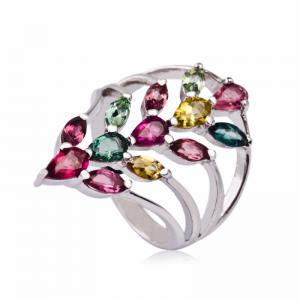 China Fashionable Crystal Silver Rings K-BC-A573 wholesale