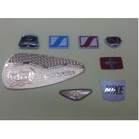 China Zinc Alloy / Brass Customized Name Plates , 0.2~1.0mm Thickness on sale