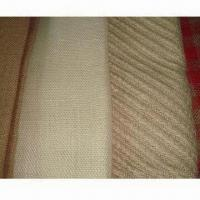 China Fashionable eco-friendly jute fabric/burlap/hessian cloth or jute and cotton blended cloth wholesale