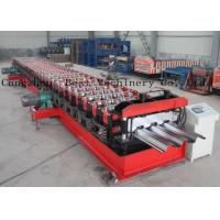 China Customized Metal Steel Deck Sheet Roll Forming Making Machine Supplier wholesale