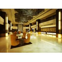 China Contemporary Modern Hotel Lobby Furniture With Sofa / Chair Veneer Finish wholesale