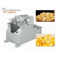 China ISO9001 Candy Packaging Machine / Large Air Puffing Machine For Cake , Bread And Rice Bar wholesale