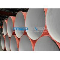 China ASTM A312 Welded Pipe Plain Ends , Stainless Steel Thin Wall Pipe With RT wholesale